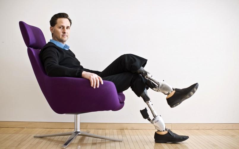 Les jambes bioniques de Hugh Herr